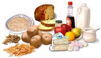 Foods that contain carbohydrates