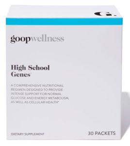 High School Genes ingredients