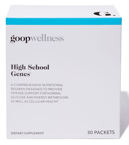 High School Genes ingredients